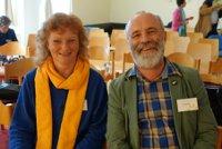 Dr. Carola Holweg mit Ulrich Martin Drescher (stellv. Vorsitzender des Beirats) nach ihrer Wahl in den Beirat von BaumInvest 1.
